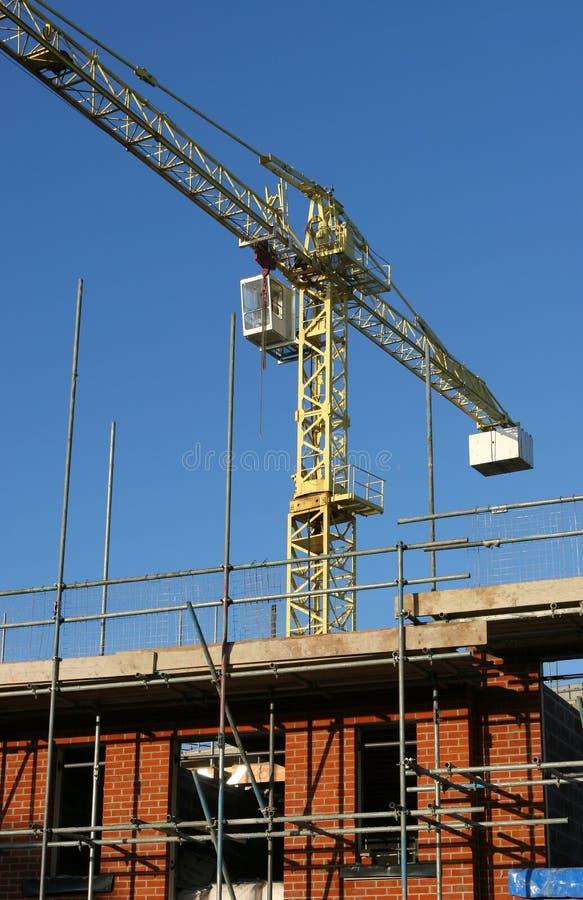 En construction photographie stock libre de droits