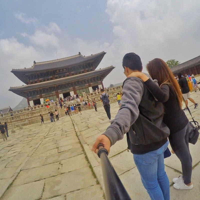 En dag i Korea royaltyfri foto