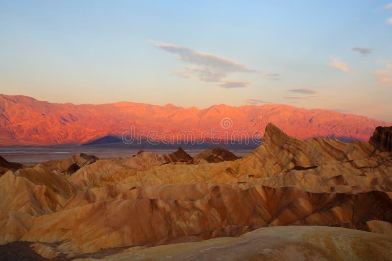 En Death Valley en los E.E.U.U. fotos de archivo