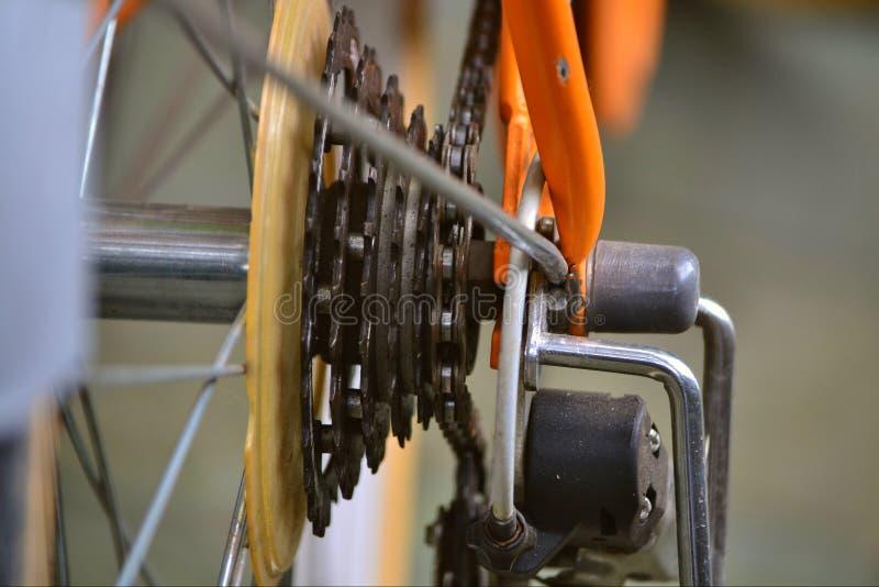 En del av cykeln arkivfoton
