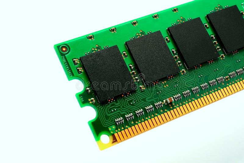 En del av enheten för datorRAM minne arkivfoton