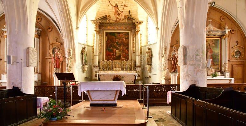 En do ARS com referência a, França - 26 de setembro de 2016: Saint pitoresco Etienn imagens de stock