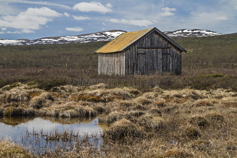 Download En Dovrefjell foto de archivo. Imagen de lago, fells - 41916364