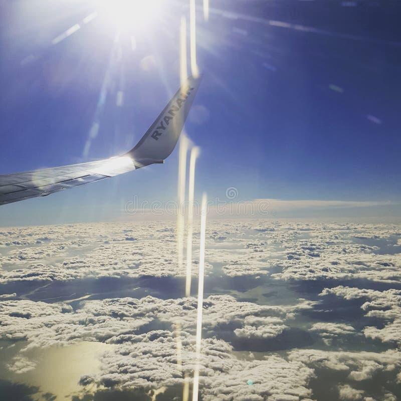 En el cielo fotos de archivo libres de regalías