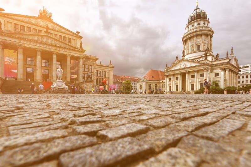 En el Gendarmenmarkt en Berlín imagen de archivo libre de regalías