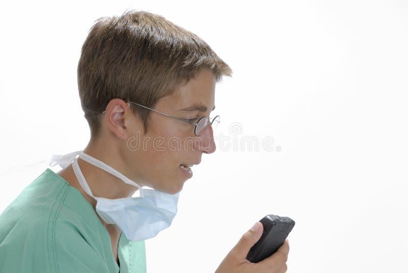 En el hospital imagen de archivo