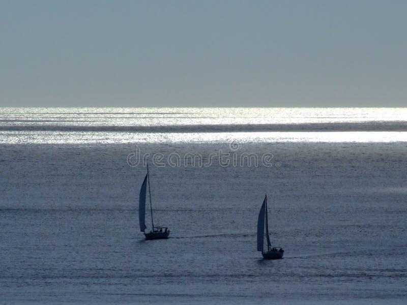 En el mar imagen de archivo