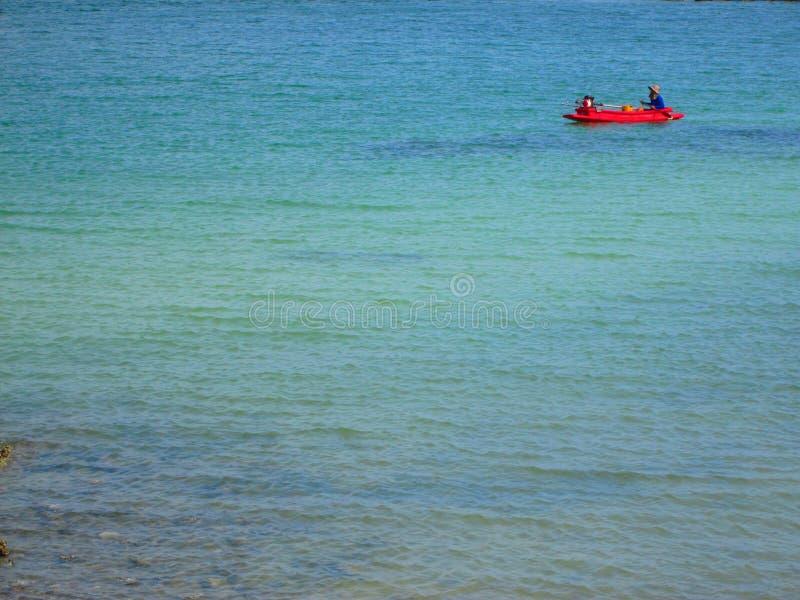 En el mar foto de archivo