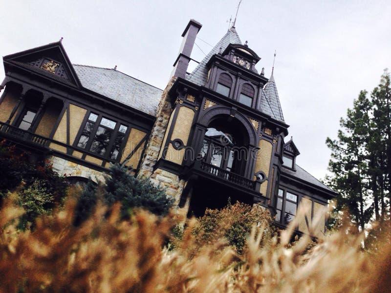 En el norte del estado mansión imagen de archivo