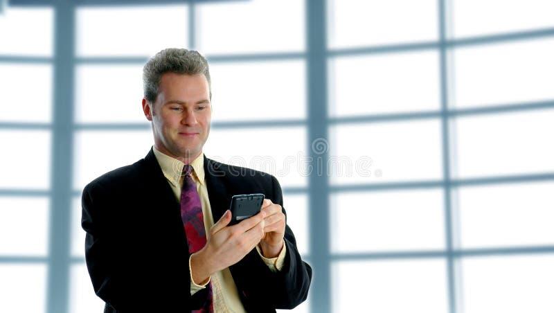 En el PDA imagen de archivo libre de regalías