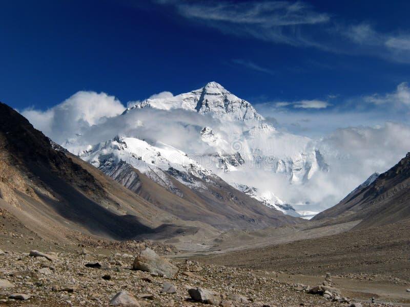 En el pie de Mt. Everest fotografía de archivo libre de regalías
