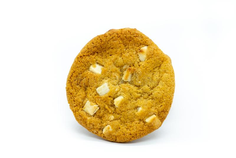 En enkel choklad Chip Cookie royaltyfri fotografi