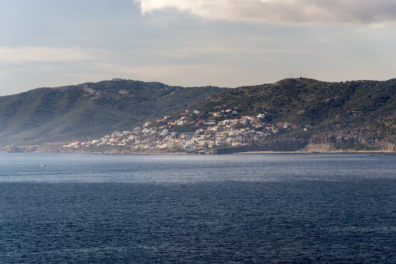 En förort av Algeciras Spanien från drottningen Elizabeth fotografering för bildbyråer