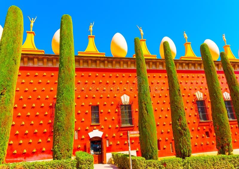 En Figueras en España imagen de archivo libre de regalías