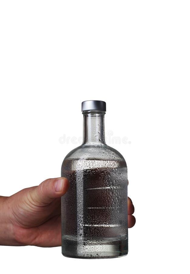 En flaska av tinktur arkivfoton