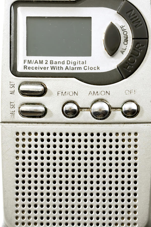 Am en fm radio royalty-vrije stock foto's