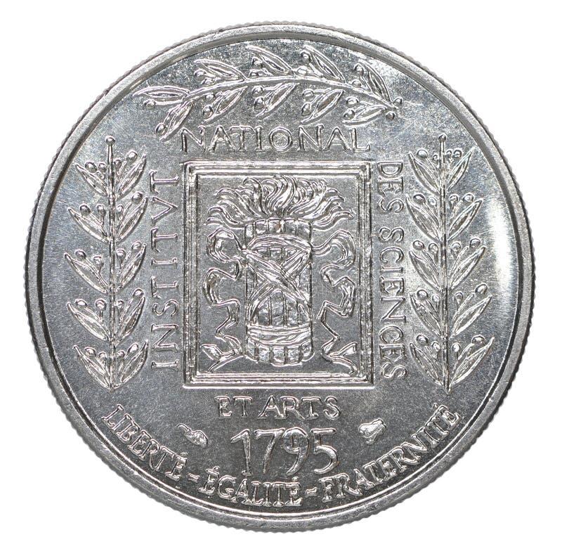 En fransk franc royaltyfria bilder
