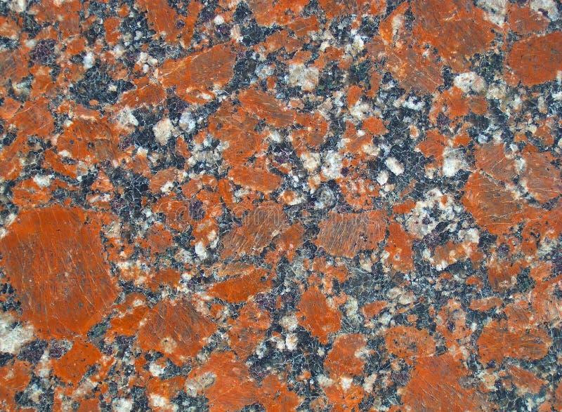 En fred av granit arkivfoton