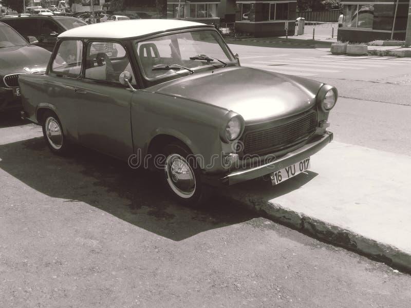 En gammal bil, från 70 ` s royaltyfri fotografi