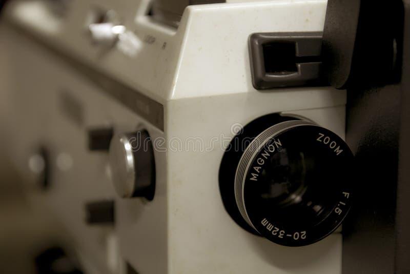 En gammal tappningMagnon projektor royaltyfri fotografi