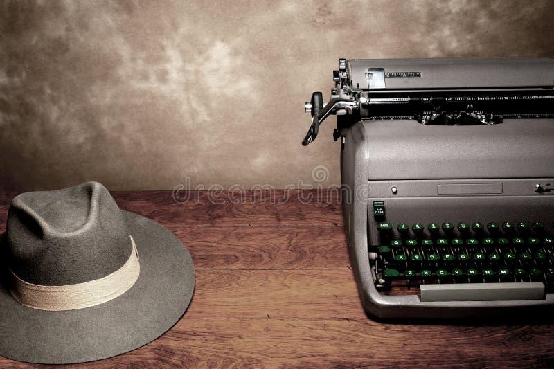 Antik skrivmaskin arkivfoton