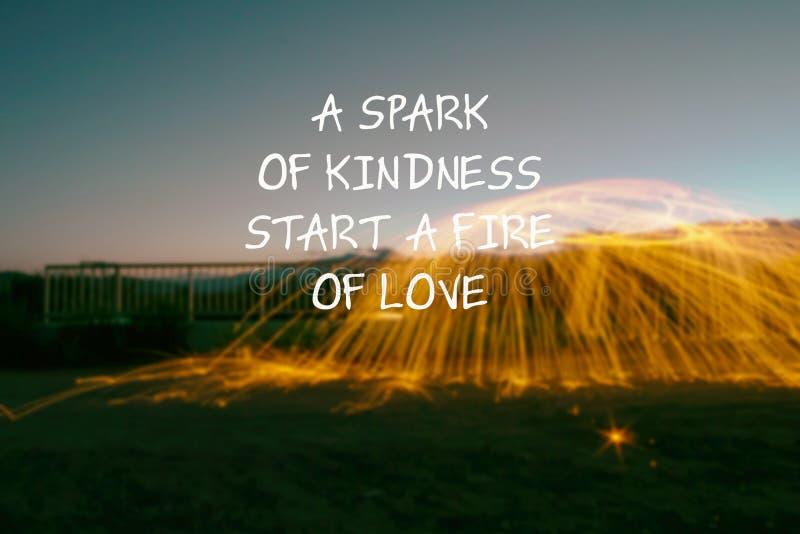 En gnista av vänlighet att starta en brand av förälskelse arkivfoton