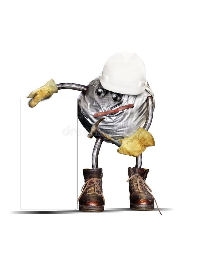 Byggnadsarbetare arkivfoto