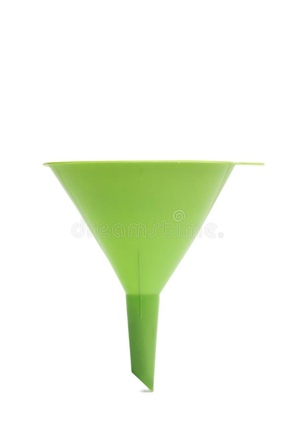 En grön tratt royaltyfri bild