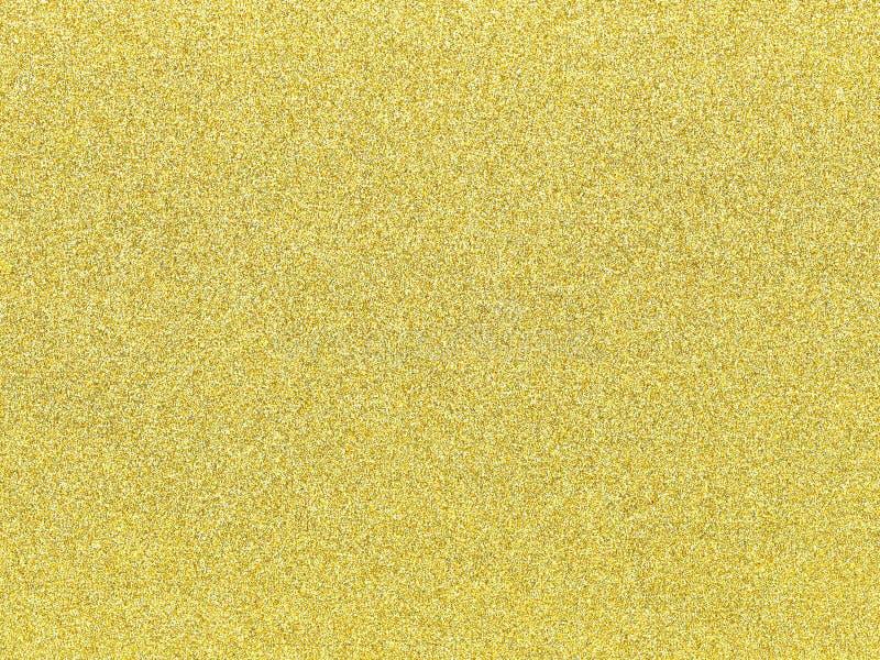 En guld blänker bakgrund som en abstrakt textur arkivbild