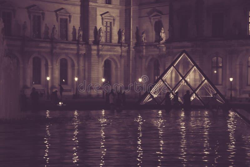 En härlig Louvre royaltyfri foto