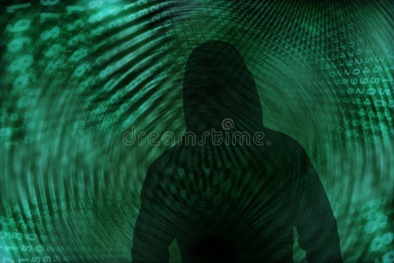 En hacker arkivfoton