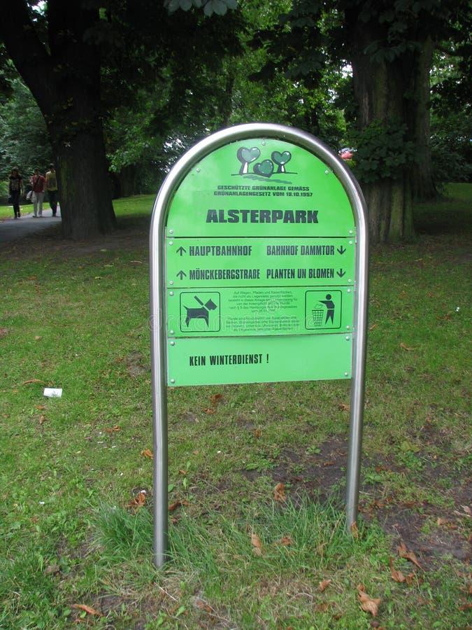 En Hamburgo de Parque foto de archivo libre de regalías
