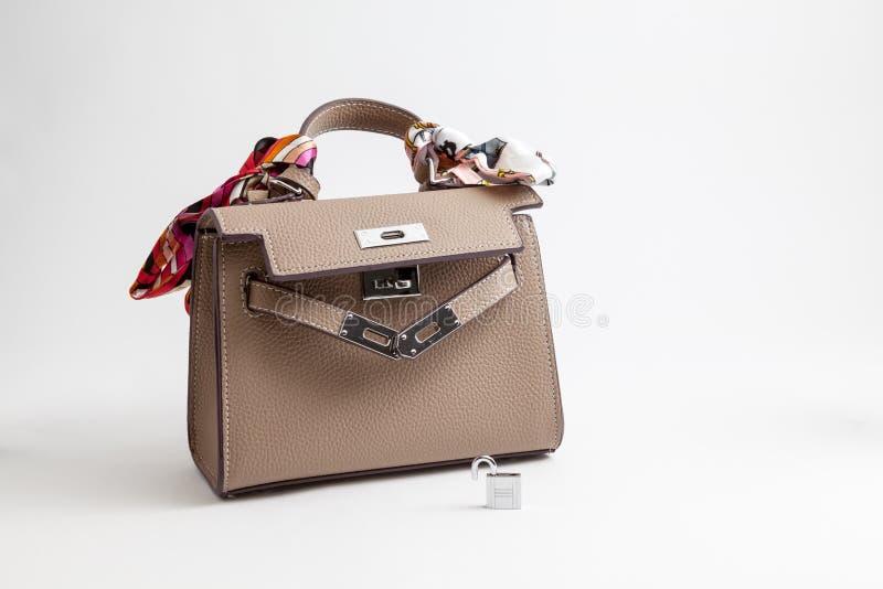 En handväska för kvinnor royaltyfria bilder