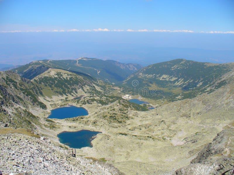 En haut de la Bulgarie images libres de droits