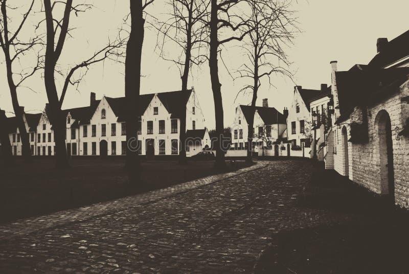 en hemtrevlig grannskap royaltyfri fotografi