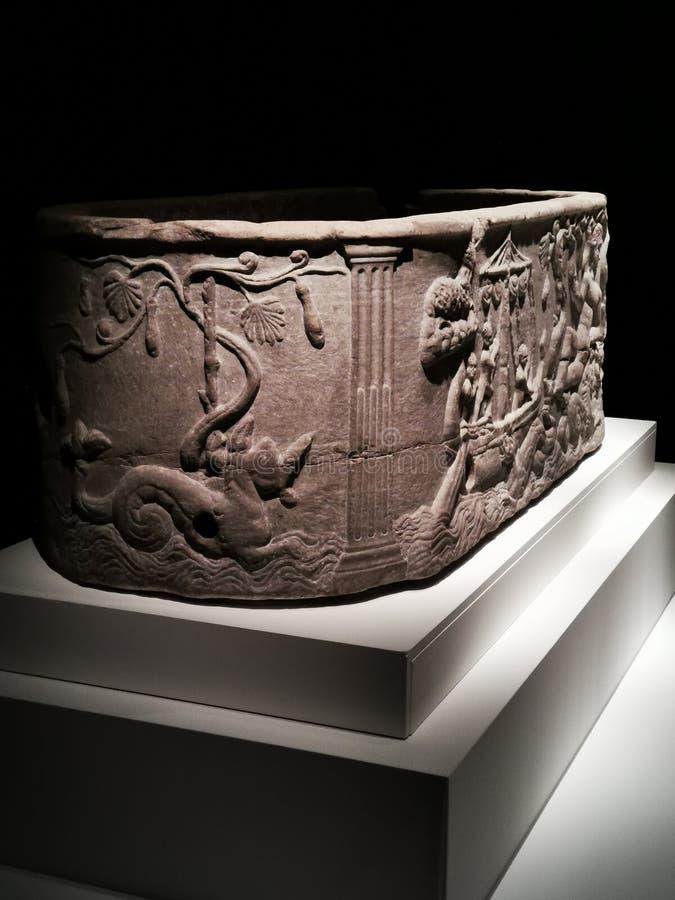 En historia av 100 v?rldsobjekten fr?n British Museum Hong Kong arkivfoto