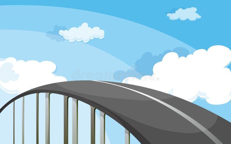 En huvudväg vektor illustrationer