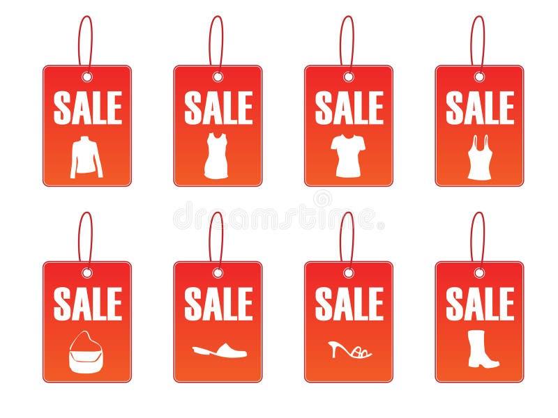 En illustration de vente - fichier de vecteur images stock