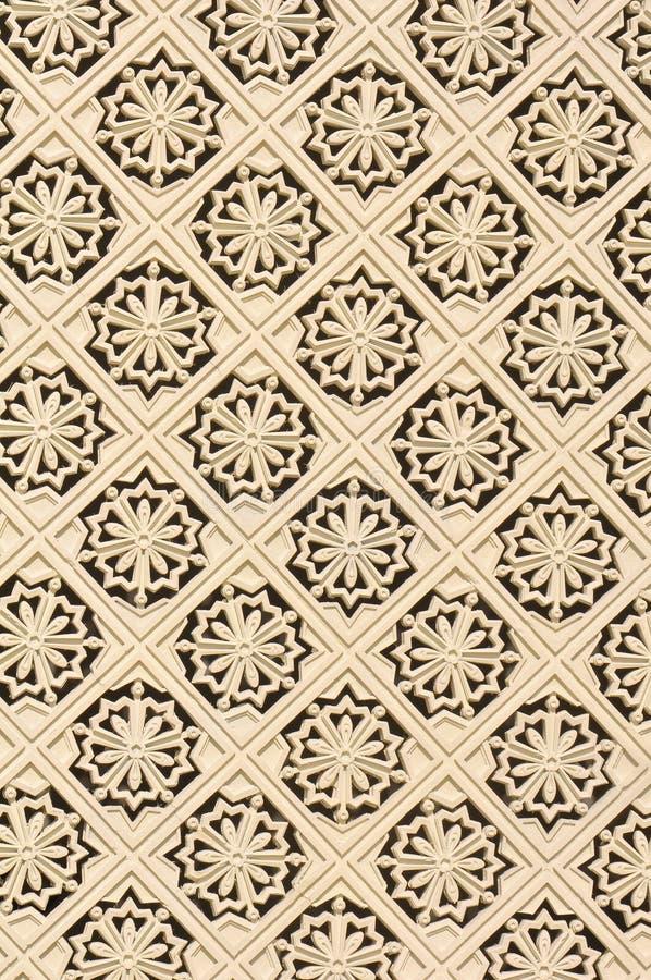 En islamisk design royaltyfria foton