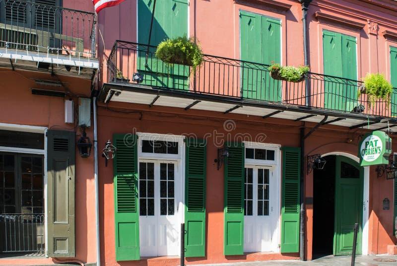 en junio de 2016 - Pat O'Brien en New Orleans, Luisiana imagen de archivo