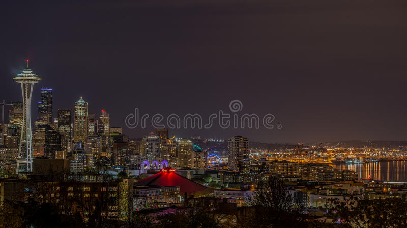 En klassisk Seattle fläck arkivfoto