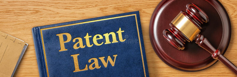 En klubb med en lagbok - Patenträtt royaltyfria foton