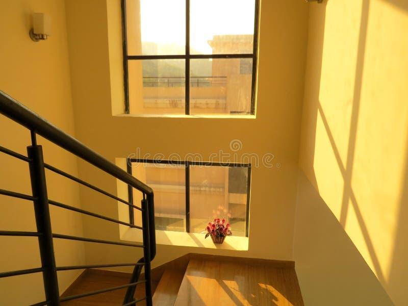 En korridor arkivbild