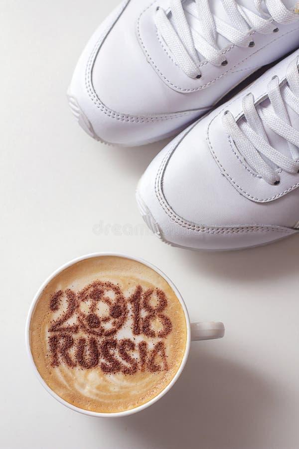 En kupa av kaffe arkivbild