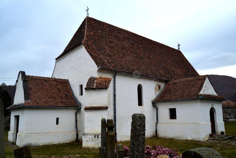 En kyrka royaltyfria bilder