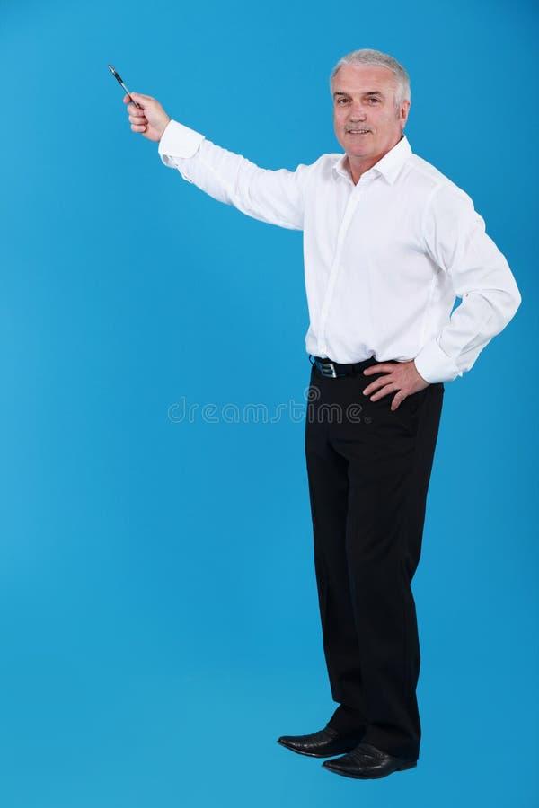 En lärare. royaltyfria bilder