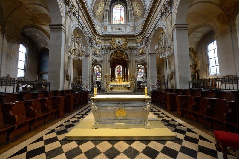 En l ?iglesia de Ile - Par?s de St. Louis fotos de archivo