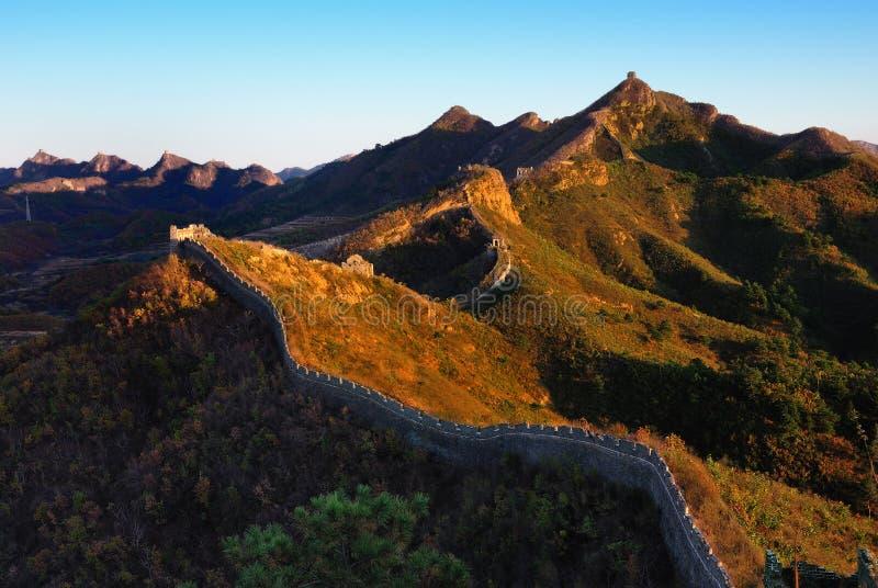 Download En La Caída De La Gran Muralla Imagen de archivo - Imagen de caída, terraplén: 7285315