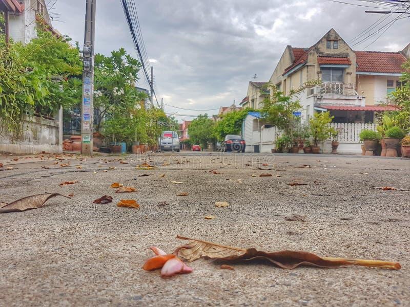 En la calle imagen de archivo