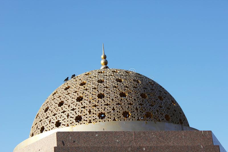 En la calle de Muscat, fotos de archivo